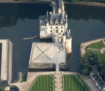 Renässansslottet Chenonceau i Loiredalen.