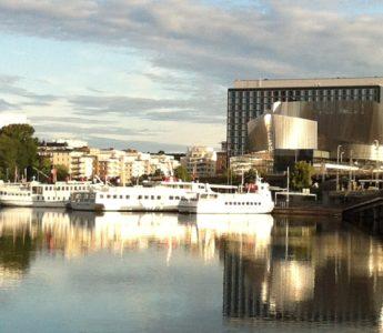 Boats to Drottningholm