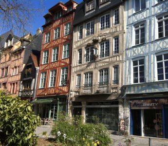 Besök i Rouen Normandie