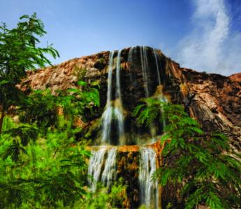 Hot springs Jordan