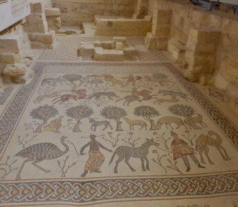 Mosaikkarta Jordanien