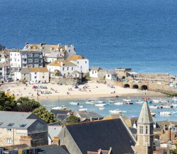 St Ives i Cornwall